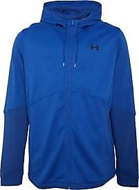 Under Armour fitted double knit full zip hoody. Features Lightweight knit fleece material that is breathable and stretches for superior mobility. 1352012-449
