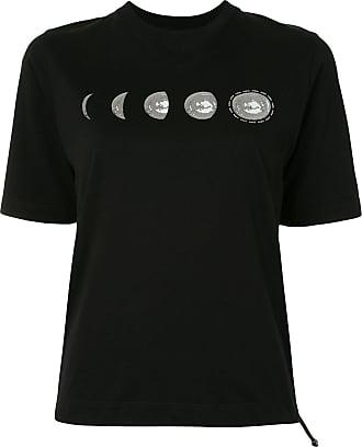 Kirin Camiseta mangas curtas com estampa de lua - Preto