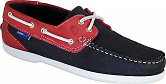 Quayside Ladies Bermuda Quality Leather Deck Shoes Navy/Magenta UK 4