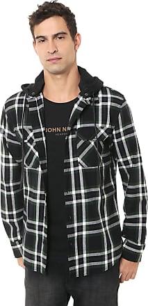 John John Camisa John John Reta Trevor Verde