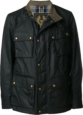 Belstaff zipped fitted jacket - Preto
