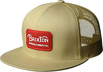 Brixton Mens Grade High Profile Adjustable Mesh Hat, Khaki, O/S
