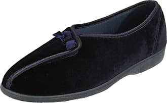 Clarks Ladies Ks By Clarks Slippers Wood Wind Navy Size 3D