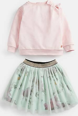 Ted Baker Citrus Bloom Sweatshirt And Skirt Set in Pale Pink JOSHHI, Womens Clothing