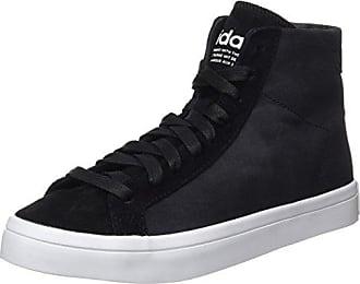 official photos c4cd7 3712a adidas Damen Court Vantage MID High-Top Schwarz Core BlackFTWR White, 40