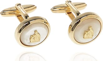 Lanvin Embellished Cufflinks Mens Gold