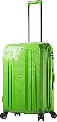 Mia Toro Italy Moderno Lucido Hardside 24 Inch Spinner Green