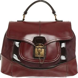 Dolce & Gabbana gebraucht - Dolce & Gabbana-Handtasche aus Leder in Bordeaux - Damen - Leder