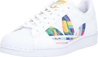 adidas Baskets basses SUPERSTAR mélange de couleurs / blanc
