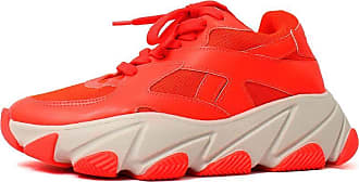 Damannu Shoes Tênis Kelly Laranja Neon - Cor: Laranja - Tamanho: 38
