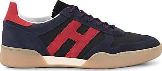 Hogan Sneakers H357, ROSSO,BLU, 10.5 - Scarpe