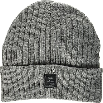 Barts Mens Parker Beanie Hat, Grigio (Heather Grey), One Size