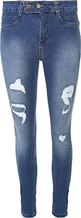Sawary Calça Jeans Sawary Skinny Sevce Azul