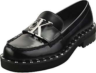 Calvin Klein Normina Womens Loafer Shoes in Black - 6 UK