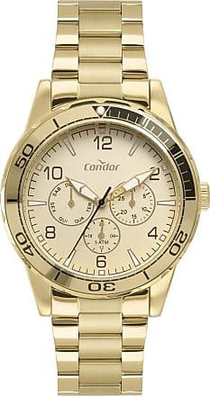 Condor Relógio Condor Masculino Ref: Co6p29iv/4x Multifunção Dourado