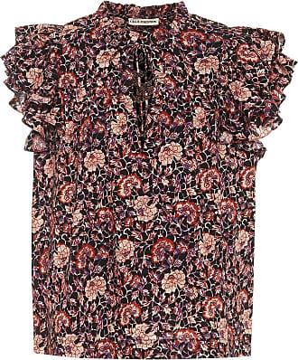 Ulla Johnson Gabi floral cotton-blend blouse