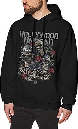 Not Applicable Clothing Mens Novelty Hoodies Activewear Top Hoodies Mens Hoody Hollywood Undead Mens Long Sleeve Sweatshirts Mens Hoodies Black