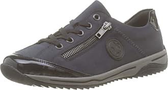 Rieker L5224, Mens Low-Top Sneakers, Blue (Marine/pazifik/schwarz), 4 UK (37 EU)