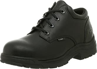 Timberland PRO Mens Titan Safety Toe Oxford,Black,9.5 W