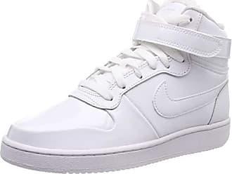 buy popular 5c7aa 3485a Nike Wmns Ebernon Mid Prem, Sneaker a Collo Alto Donna, Bianco White-Black
