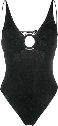 Oséree Lumière Ring Maillot swimsuit - Preto