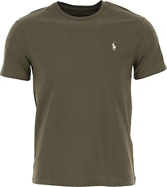 Ralph Lauren T-Shirt Uomo On Sale, Military Green, Cotone, 2019, L M S XL