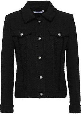 Iro Iro Woman Paloma Cotton-bouclé Jacket Black Size 38