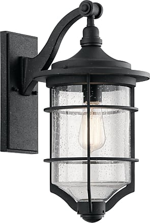 Kichler Royal Marine Outdoor Wall 1 Light in Distressed Black