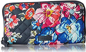 Vera Bradley Iconic RFID Georgia Wallet, Signature Cotton, pretty Posies