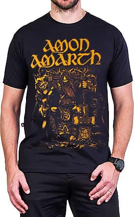 Bandalheira Camiseta Amon Amarth Odin Viking Preta