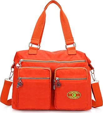 GFM Womens Nylon Cross Body Shoulder Bag Handbag (88) (S4-752SB-CRTNRG)