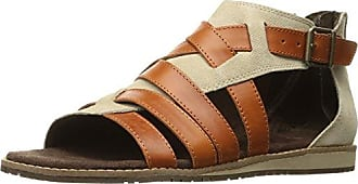 CAT Womens SUNSWEPT Sandal, Warm Sand/Tan, 9.5 M US