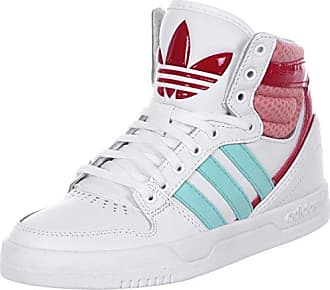 sports shoes 2fa14 da34c adidas Hightop Sneaker Court Attitude K weißErdbeeregrün EU 38 23