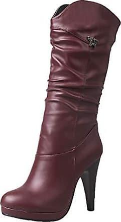 Elara Damen Stiefel | Bequeme Overknee High Heels