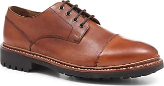 Jones Bootmaker Goodyear Welted Leather Derby Shoe Tan