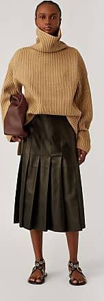 Joseph High Neck Cardigan Stitch Knit