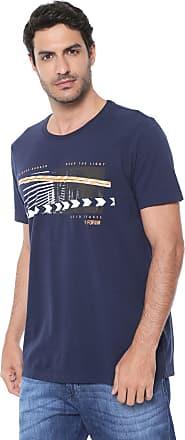 af0ef12a4 Forum Camiseta Forum Estampada Azul-marinho
