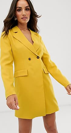 Unique21 Unique21 - Vestito blazer incrociato-Giallo