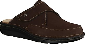 Finn Comfort Aguilas Marron (Brown) - Clogs - Mens Sandal / Mules, Brown, Leather (Patagonia) Brown Size: 12 UK