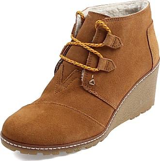 12c6591eeac Toms Womens Desert Wedges Boot (10 B(M) US   40-41