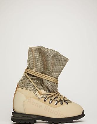 Acne Studios FN-WN-SHOE000234 Sand beige Trekking boots