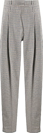 JEJIA checked tailored trousers - Branco