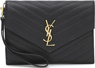 Saint Laurent Clutch Monogram in pelle matelassé