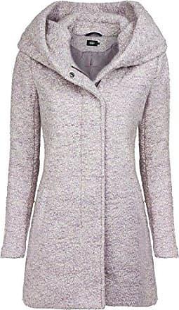 ONLY Damen Mantel Jacke onlELLI Light Melange Coat OTW Trenchcoat Kurzmantel /Übergang