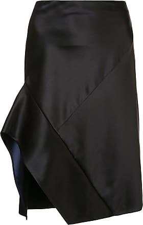 16b7097e2 Narciso Rodriguez contrast trim asymmetric skirt - Black