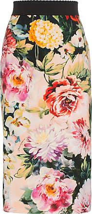 258468bbf Dolce & Gabbana Floral Print Pencil Skirt - Multicolour