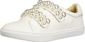Betsey Johnson Womens SB-TILIE Sneaker, White, 8 M US