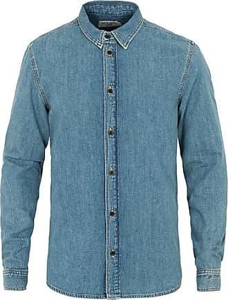 344ccb49 Farrell 5 Blå. Shipping: gratis. Tiger of Sweden Jeans Pure Denim Shirt  Medium Blue