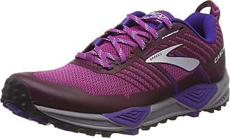 Brooks Womens Cascadia 13 Cross Trainers, Multicolour (Aster/Fig/Purple 531), 4.5 UK