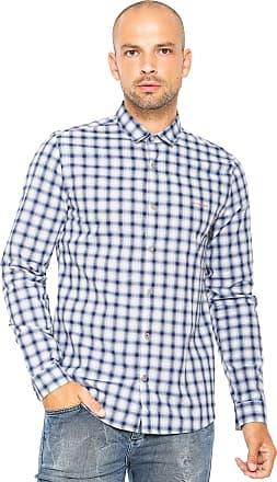 723dca3104669 Calvin Klein Jeans Camisa Calvin Klein Jeans Regular Xadrez Azul